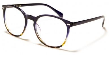 Blue Light Blocking Classic Wholesale Glasses BL2010-BLU-BRN