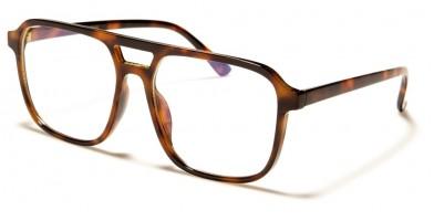 Blue Light Blocking Aviator Glasses Wholesale BL2012-DEMI
