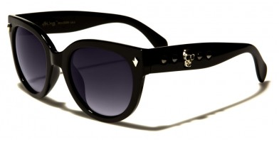 Black Society Round Women's Sunglasses Wholesale BSC5206