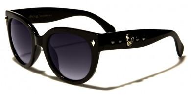 Black Society Round Women's Sunglasses Wholesale BSC5206
