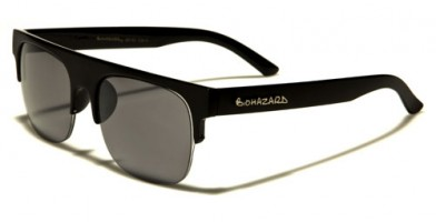 Biohazard Semi-Rimless Men's Bulk Sunglasses BZ137MIX