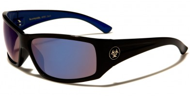 Biohazard Rectangle Men's Bulk Sunglasses BZ66193