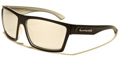 Biohazard Rectangle Unisex Wholesale Sunglasses BZ66223