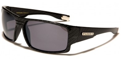 Biohazard Rectangle Men's Wholesale Sunglasses BZ66234