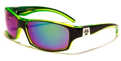 Biohazard Oval Men's Wholesale Sunglasses BZ66245