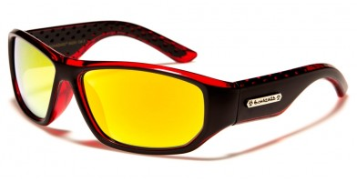 Biohazard Rectangle Men's Sunglasses BZ66250