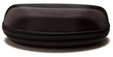 Black Nylon Clamshell Glasses Case Wholesale CASE-205SP