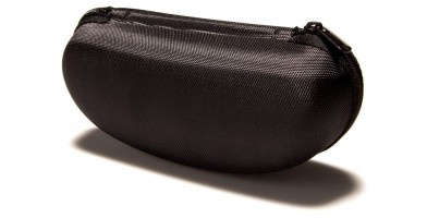 9a6e5fb37a409 ... Black Nylon Clamshell Glasses Case Wholesale CASE-205SP ...
