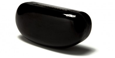 Black Clamshell Wholesale Sunglasses Case CASE-301FS