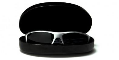 f7e81625f82 ... Black Clamshell Wholesale Sunglasses Case CASE-301FS ...