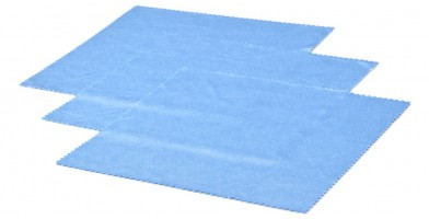 Blue Microfiber Cleaning Cloths In Bulk CCLOTH-A12BLU
