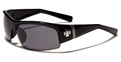 Choppers Semi-Rimless Men's Sunglasses Bulk CH128MIX