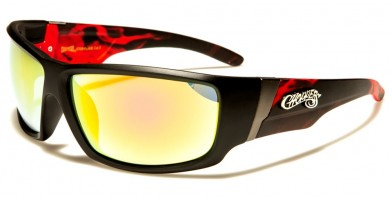 Choppers Flame Print Men's Bulk Sunglasses CP6709-FLAME