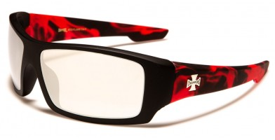Choppers Flame Print Men's Sunglasses Bulk CP6711-FLAME