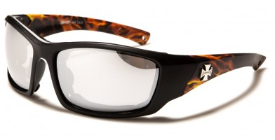 Choppers Flame Print Motorcycle Wholesale Sunglasses CP930