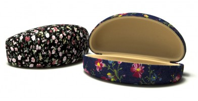 Floral Pattern Fabric Sunglasses Cases Wholesale CV805