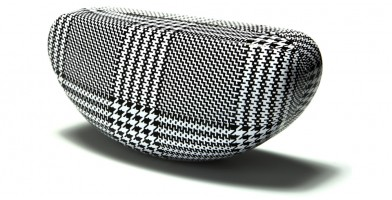 Houndstooth Pattern Sunglasses Cases Wholesale CV813