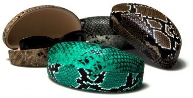 Snake Skin Pattern Sunglasses Cases Wholesale CV835