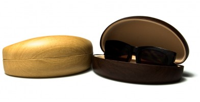 Faux Wood Sunglasses Cases Wholesale CV844