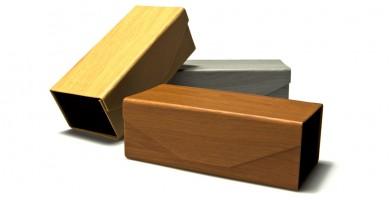 Wood-Print Foldable Wholesale Sunglasses Cases CV850-WD