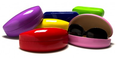 Clam Shell Sunglasses Cases Wholesale CW895-CO