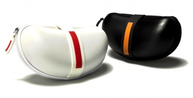 Black and White Sunglasses Cases Wholesale CW898-PR