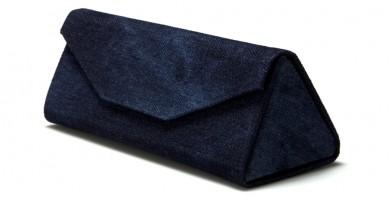 Foldable Denim Blue Wholesale Sunglasses Cases CW901