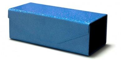 Blue Foldable Wholesale Sunglasses Case CW904