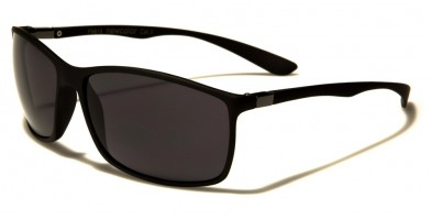 Flex Rubber Rectangle Men's Sunglasses Wholesale FR-P9815