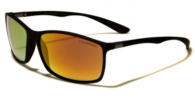 Flex Rubber Polarized Men's Wholesale Sunglasses FR-P9815POL-CM