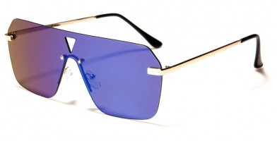 Giselle Shield Flat Top Sunglasses in Bulk GSL-OP-28096