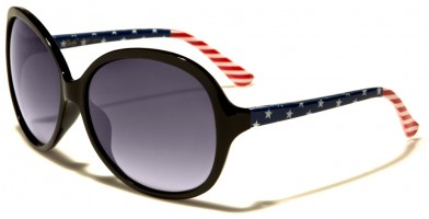 Giselle USA Flag Women's Wholesale Sunglasses GSL22105