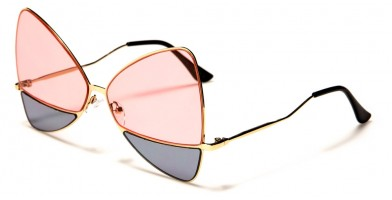 Giselle Split Lens Butterfly Wholesale Sunglasses GSL28114