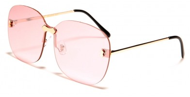 Giselle Rimless Women's Sunglasses Wholesale GSL28124
