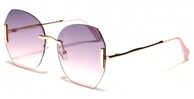 Giselle Rimless Women's Sunglasses in Bulk GSL28157