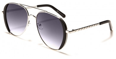 Giselle Aviator Unisex Sunglasses Wholesale GSL28181