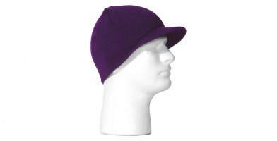 Snowboard Ski Purple Visor Beanie Hat Wholesale HSH1011
