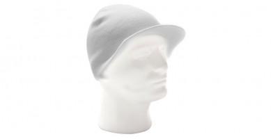 Snowboard Ski White Visor Beanie Hat Wholesale HSH1013