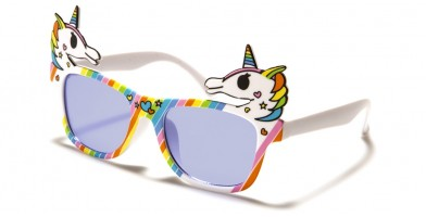 Kids Rainbow Unicorn Wholesale Sunglasses K-824