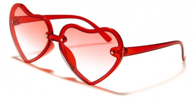Kids Fashion Heart Shaped Sunglasses Wholesale K-846-HEART