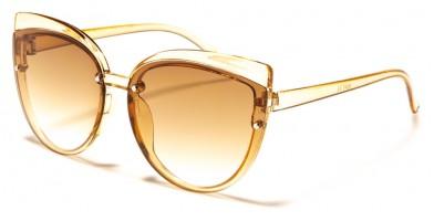 Kids Color Lens Cat Eye Wholesale Sunglasses K-847