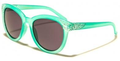 Romance Round Kids Wholesale Sunglasses KG-ROM90060