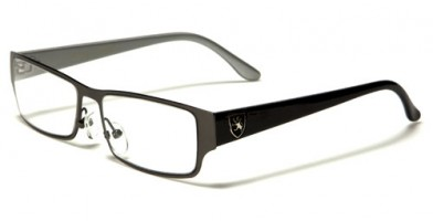 Khan Rectangle Men's Glasses In Bulk KN1215CLR
