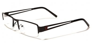 057d7358e7c Khan Semi-Rimless Men s Bulk Glasses KN1217CLR ...