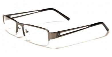 Khan Semi-Rimless Men's Bulk Glasses KN1217CLR