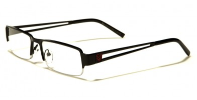 Khan Semi-Rimless Unisex Readers In Bulk KN1217RD