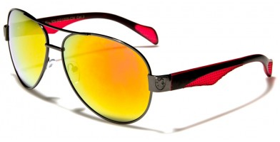 Khan Aviator Men's Sunglasses Wholesale KN21005-CM