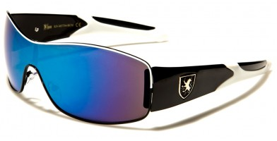 Khan Shield Men's Bulk Sunglasses KN3734-RCM