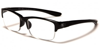 Khan Rectangle Men's Readers Wholesale KN959RD