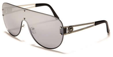 Kleo Shield Unisex Wholesale Sunglasses LH-M7812